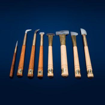 Phase vendita prodotti restauro Firenze - Brunitoi in pietra d'agata - Attrezzature per il legno e doratura, Attrezzature per il restauro e di laboratorio
