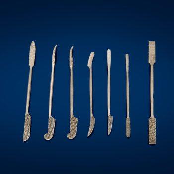 Raspe - Phase vendita prodotti restauo Firenze-raspe in acciaio-Attrezzature per il restauro e di laboratorio, Utensili per restauro.