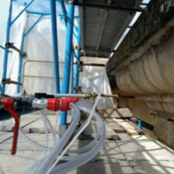 Phase prodotti restauro Firenze -impianto nebulizzazione - PHASE - Attrezzature da cantiere, Attrezzature per il restauro e di laboratorio.
