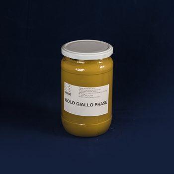 Phase prodotti restauro Firenze- bolo giallo-barattolo- Prodotti per la doratura.