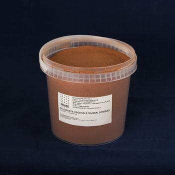 Phase prodotti restauro Firenze-.coloranteveg-sandalo-rosso - barattolo-Coloranti vegetali, Pigmenti per il restauro