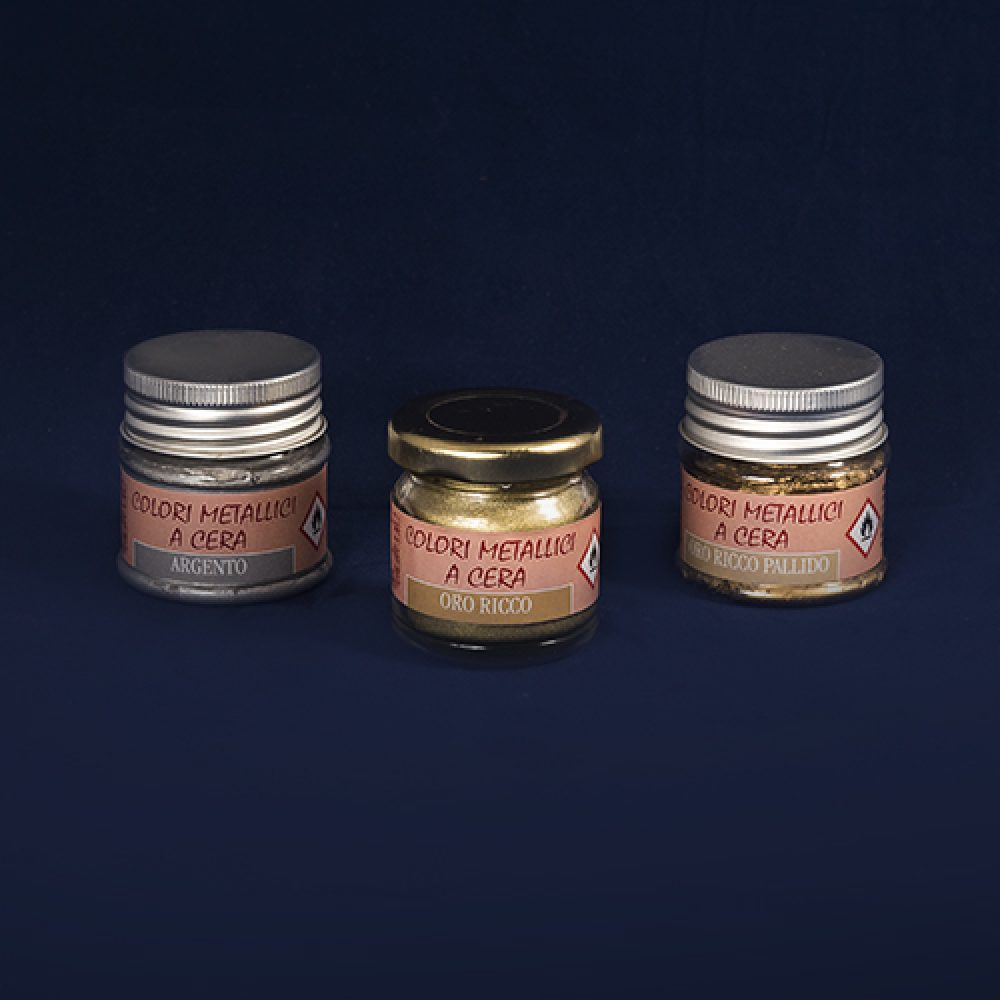 Phase vendita prodotti restauro Firenze- cera dorata- Prodotti per la doratura.