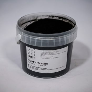 Phase prodotti restauro Firenze-pigmenti nero - barattolo- Pigmenti per il restauro, Terre e pigmenti minerali puri
