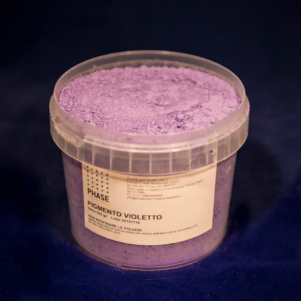 Phase prodotti restauro Firenze-pigmenti viola - polvere- Pigmenti per il restauro, Terre e pigmenti minerali puri