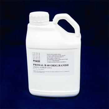 Phase Restauro - PRIMAL® B60A - Resina acrilica solubile in acqua