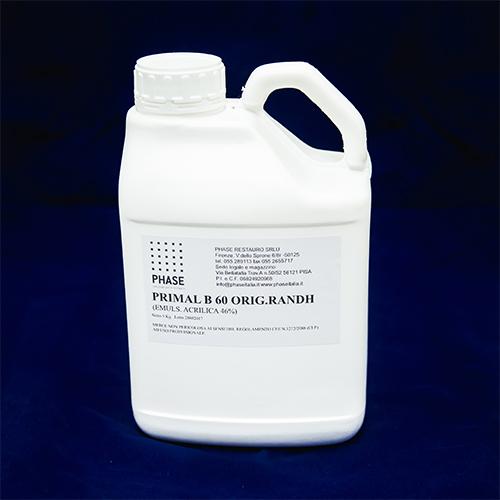 Phase Restauro - Prima B60A - Resina per pitture all'acqua