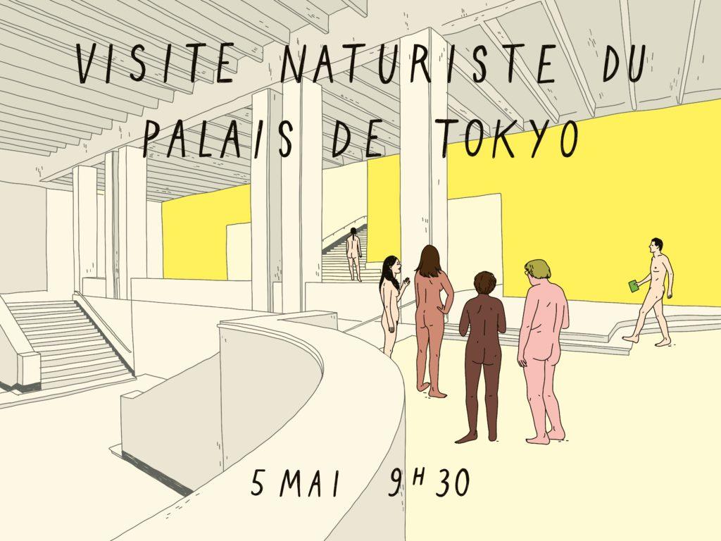 Phase Italia - Blog - Il Palais de Tokyo apre ai nudisti - Copertina evento