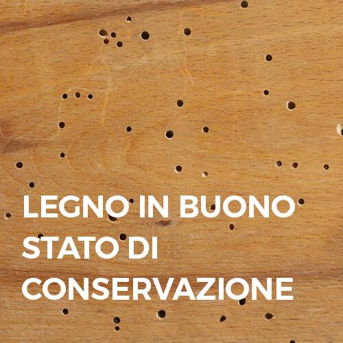 Phase Italia - Soluzioni per il restauro del legno - Legno in buono stato di conservazione