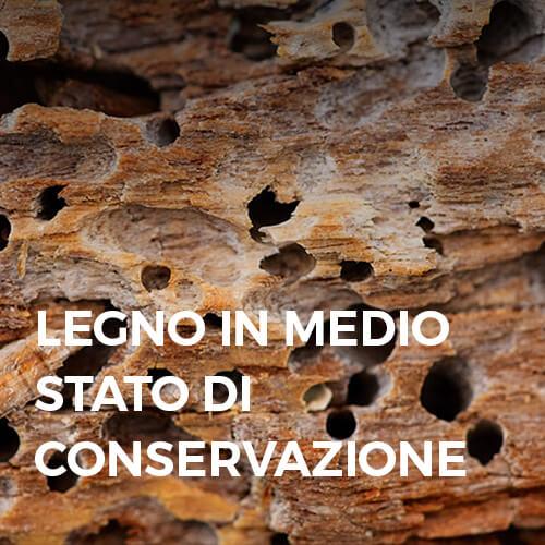 Phase Italia - Soluzioni per il restauro del legno - Legno in medio stato di conservazione