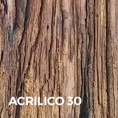 Phase Italia - Soluzioni per il restauro - Trattamento del legno in cattivo stato di conservazione - Acrilico 30