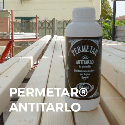 Phase Italia - Soluzioni per il trattamento del legno - Trattamento antitarlo con Permetar a spruzzo