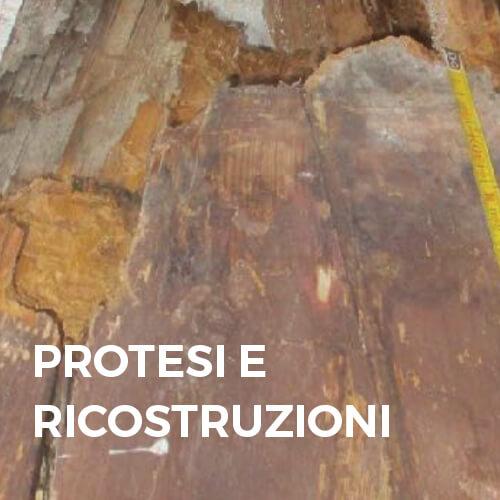 Phase Italia - Soluzioni per il restauro del legno - Protesi e ricostruzioni