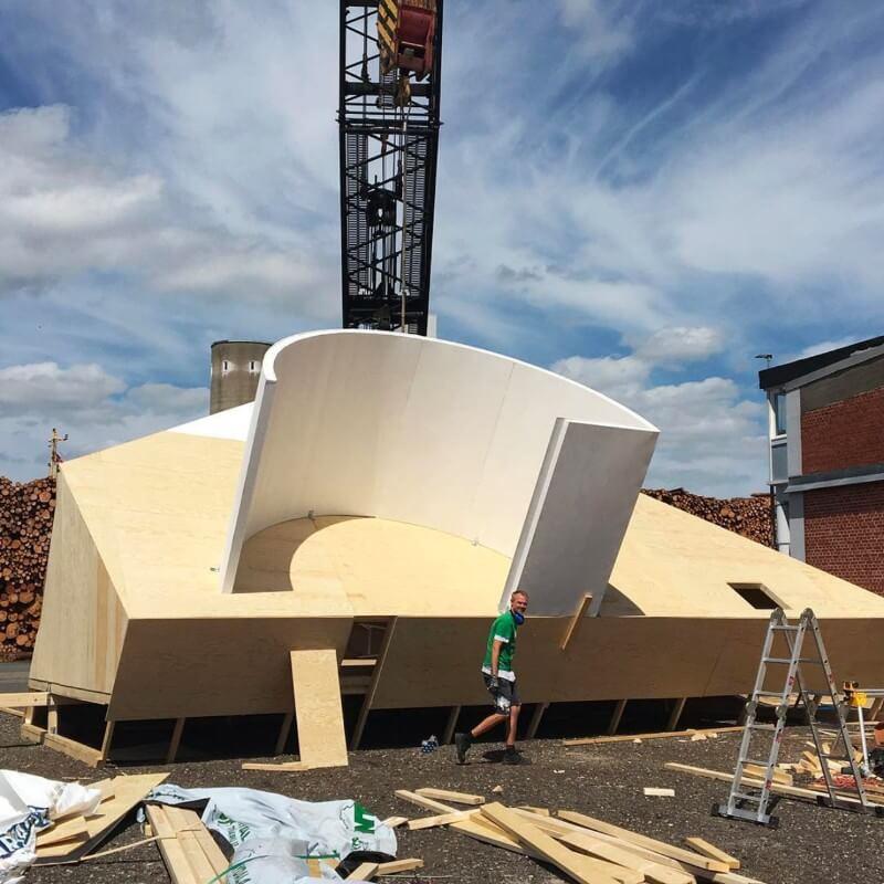 Phase Italia Blog - Villa Savoye e il naufragio della modernità - fasi della costruzione