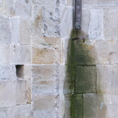 Phase Italia - Restauro Lapideo - Disinfezione e Protezione - Esempio trattamento patine biologiche su pietra naturale 1