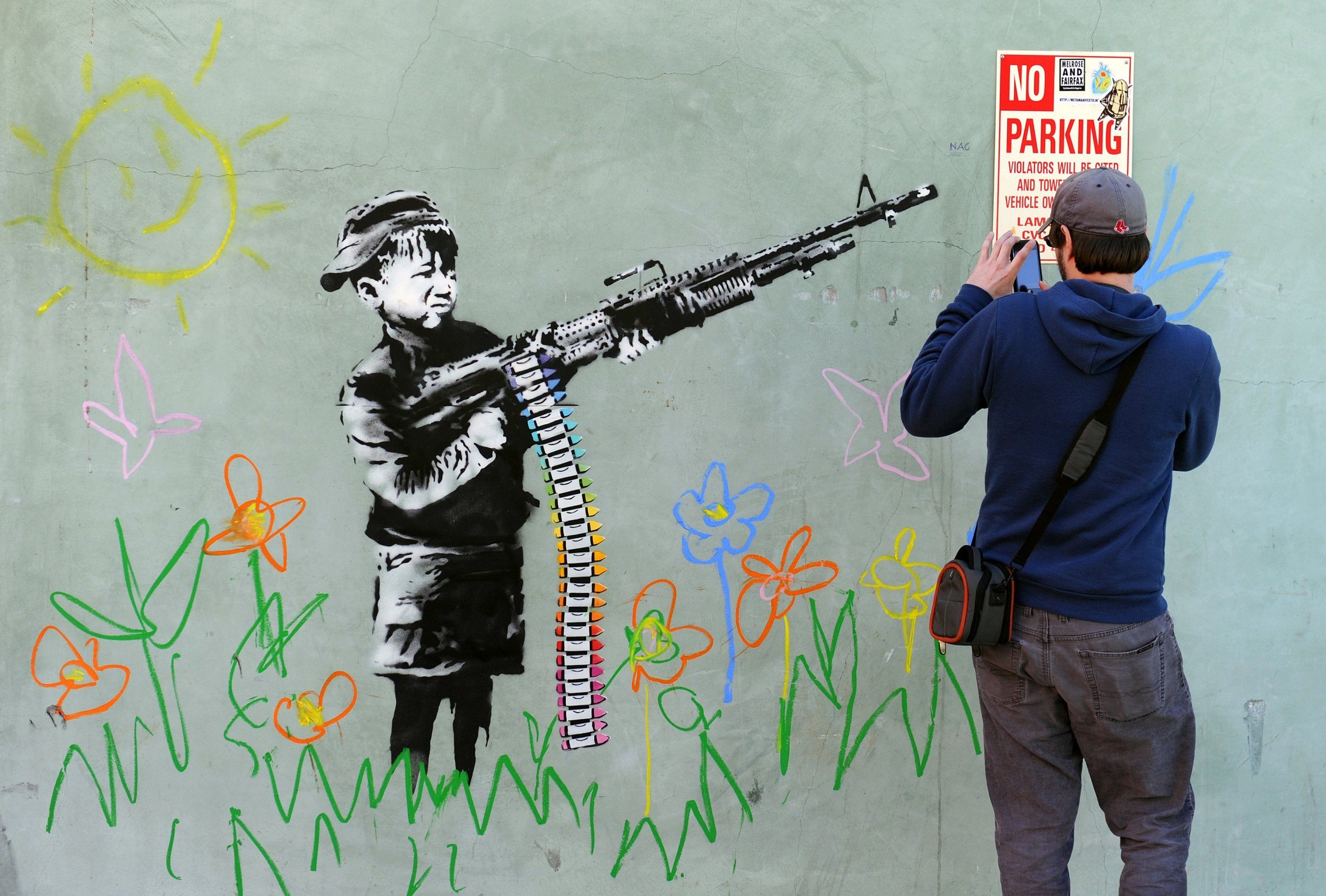 "Phase Italia Blog - A Firenze Bansky in mostra per ""This is not a photo opportunity"" - Alcune delle opere più famose di Bansky"