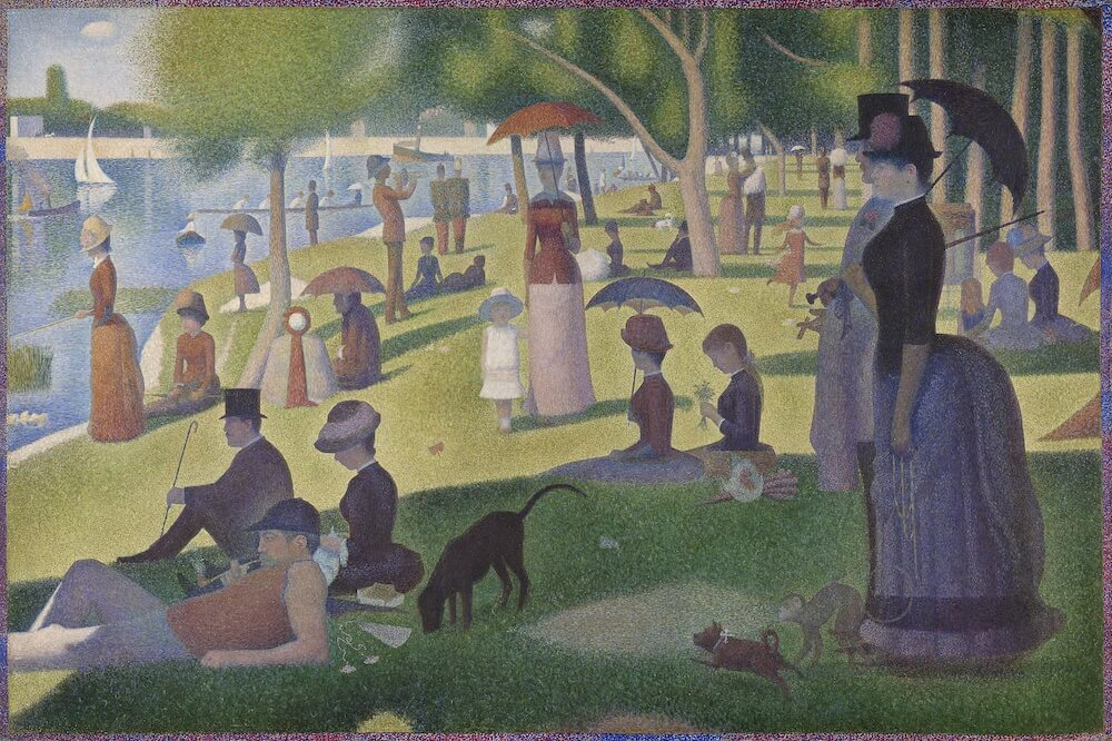 Phase Italia blog - Da Chicago oltre 52mila opere d'arte pronte per il download - A saturday on la grande jatte