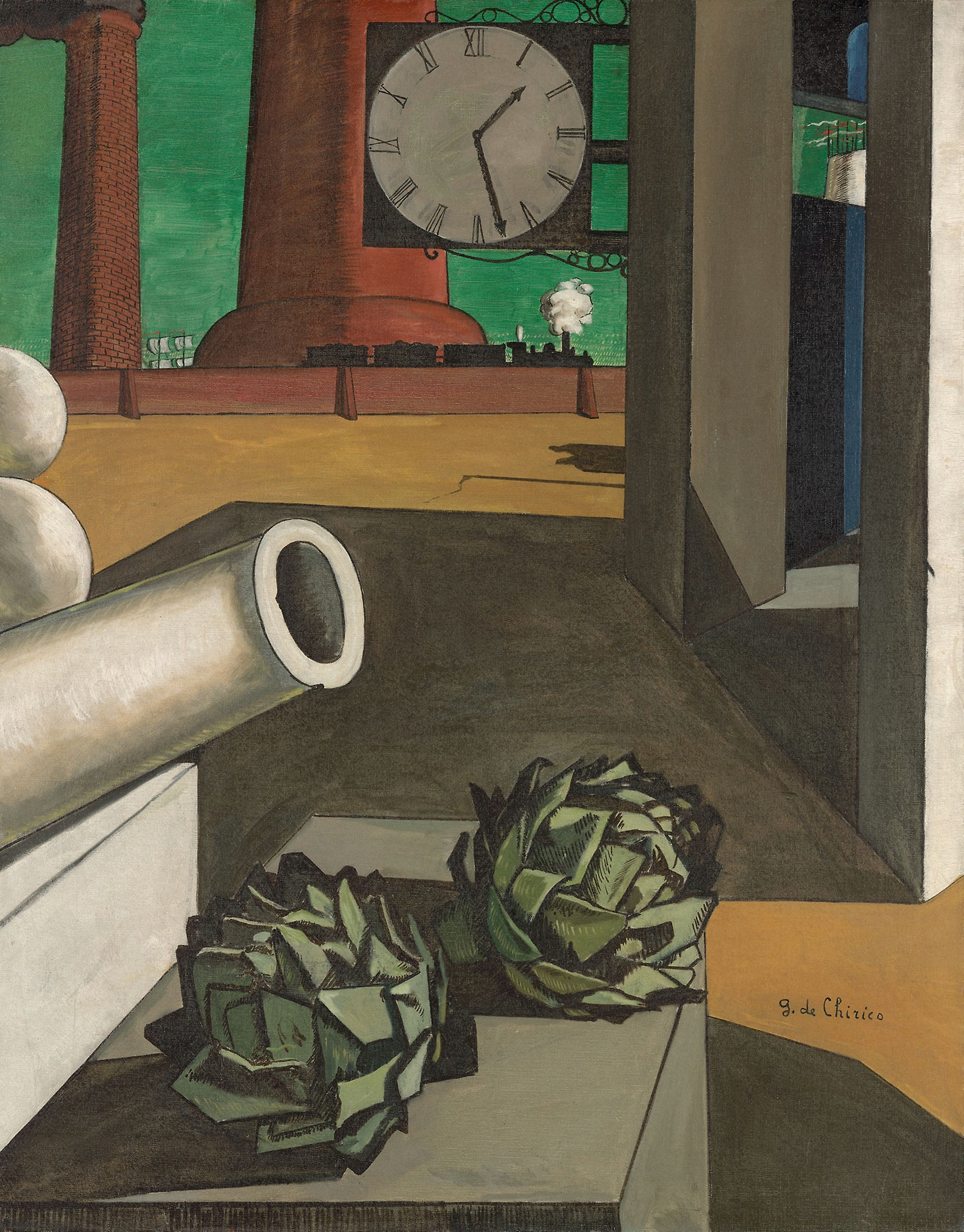Phase Italia blog - Da Chicago oltre 52mila opere d'arte pronte per il download - De Chirico