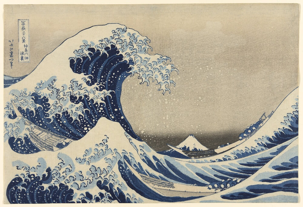 Phase Italia blog - Da Chicago oltre 52mila opere d'arte pronte per il download - Under the Wave off Kanagawa