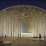 Il teatro ispirato ad una foresta di bambù