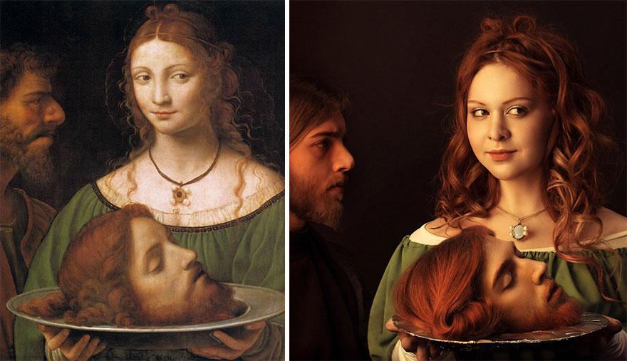 Phase Italia Blog - Replicare opere d'arte sui social network - foto 2