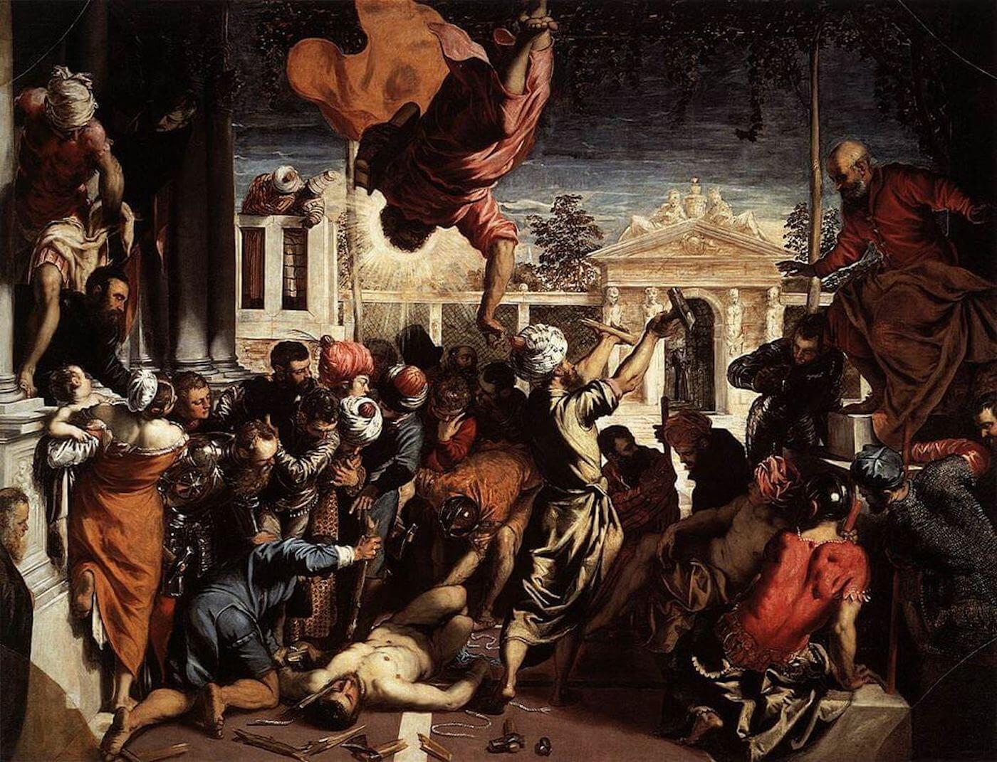 """Phase Italia Blog - Arriva al cinema """"Tintoretto Un Ribelle a Venezia"""" - vista quadro """"Il miracolo di San Marco che libera lo schiavo"""""""