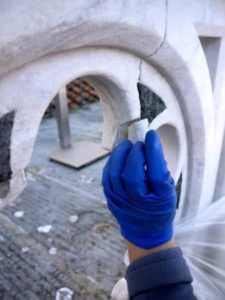 Phase Italia - Blog - Terminato il restauro di una parte della facciata del Duomo di Firenze operazioni di restauro 1