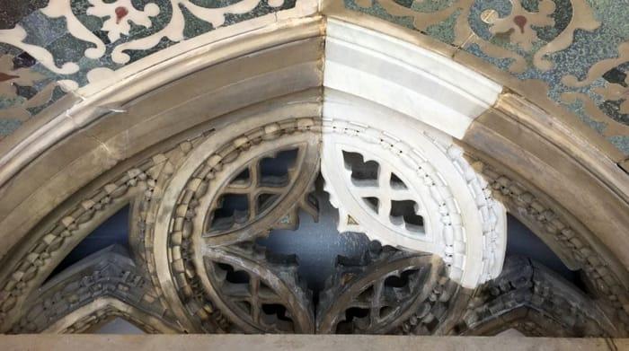 Phase Italia - Blog - Terminato il restauro di una parte della facciata del Duomo di Firenze operazioni di restauro 2