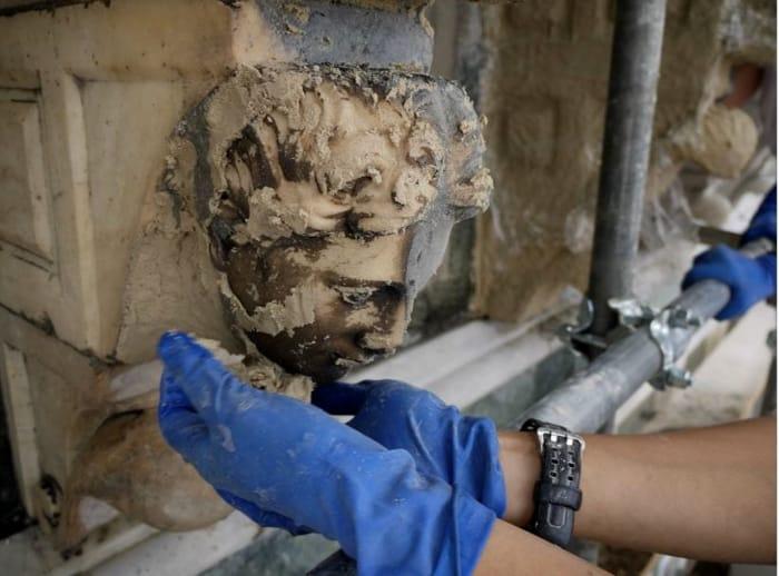Phase Italia - Blog - Terminato il restauro di una parte della facciata del Duomo di Firenze operazioni di restauro 4