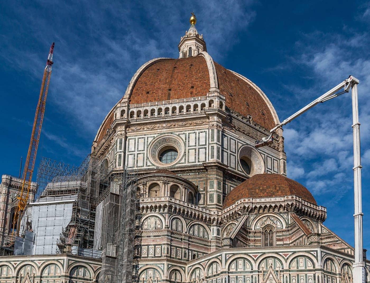 Phase Italia - Blog - Terminato il restauro di una parte della facciata del Duomo di Firenze