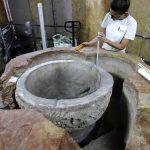Scoperta fonte battesimale alla Natività di Betlemme