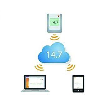 Data logger WiFi testo 160 IAQ (WLAN) - Monitoraggio di temperatura, umidità, CO2 e pressione atmosferica - foto 2
